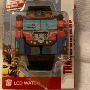 Optimus Prime Transformers Digital LCD Watch